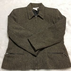 Jackets & Blazers - J.London Women's JACKET BLAZER TWEED Size 5